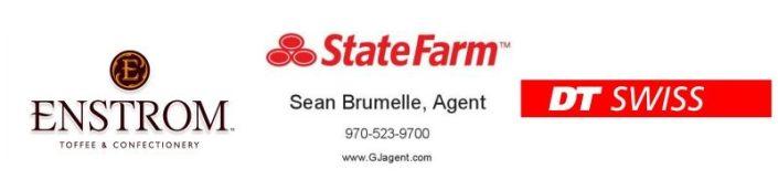 Enstrom, State Farm, DT Swiss Sponsors